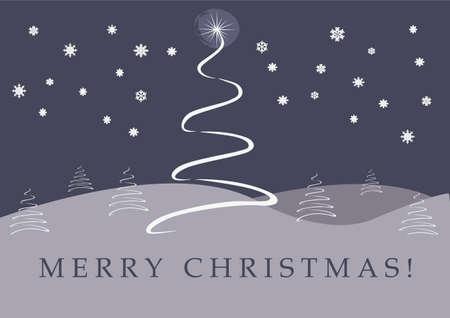 Christmas Card Background Vector