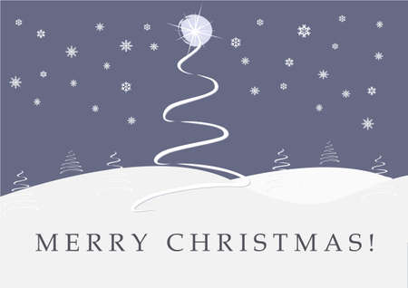 Christmas Card Background Stock Vector - 10638221