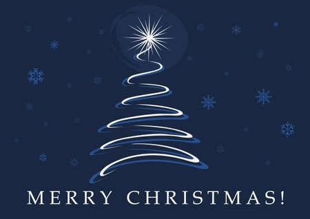 Christmas Card Background Stock Vector - 10638234