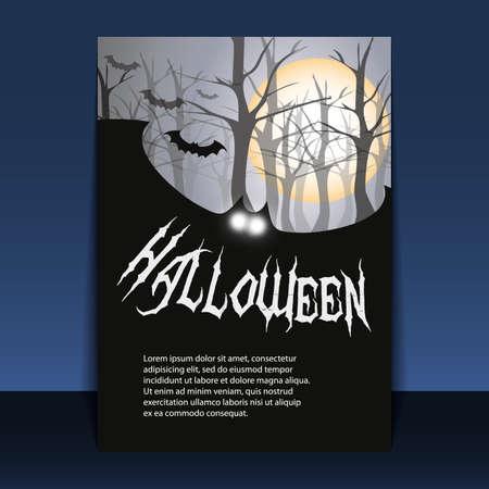Halloween Flyer or Cover Design Stock Vector - 10685323