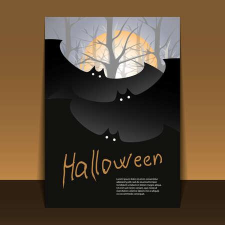 Halloween Flyer or Cover Design Stock Vector - 10685324