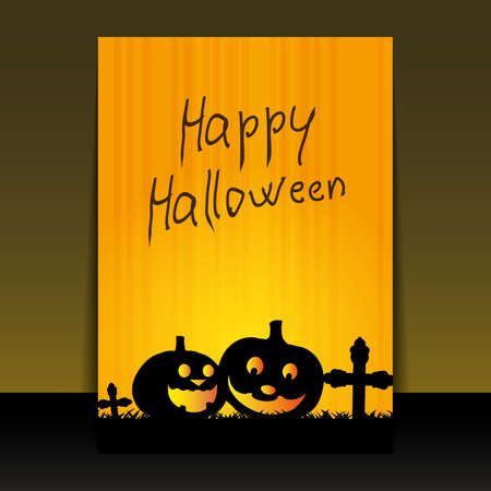 Halloween Flyer or Cover Design Stock Vector - 10685325
