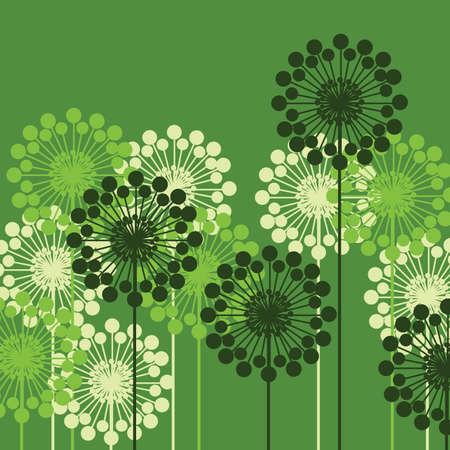 floral vector: Fondo de Vector floral Vectores