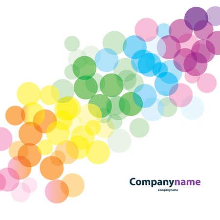 gocce di colore: Background Vector Colorful
