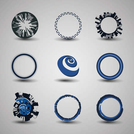 circle design: Collection Of Globe Designs
