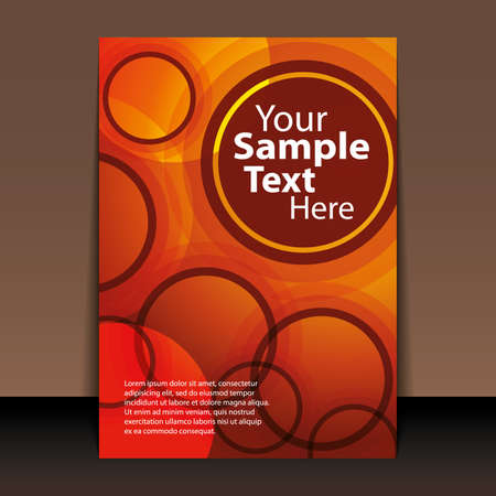 Flyer or Cover Design Stock Vector - 10769780