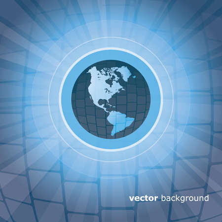web portal: Earth Background  Illustration