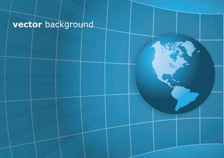Worldwide Information Background Stock Vector - 11016677