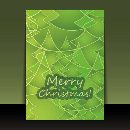 Christmas Flyer or Cover Design Vector
