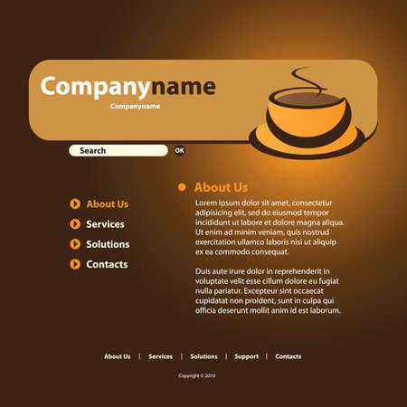 net book: Website Template