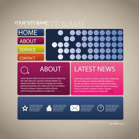 web site design template: Web site design template
