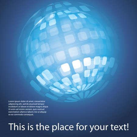 global connection: Globe Design Vector Illustration