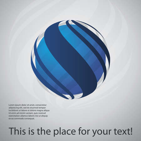 digital globe: Globe Design Illustration