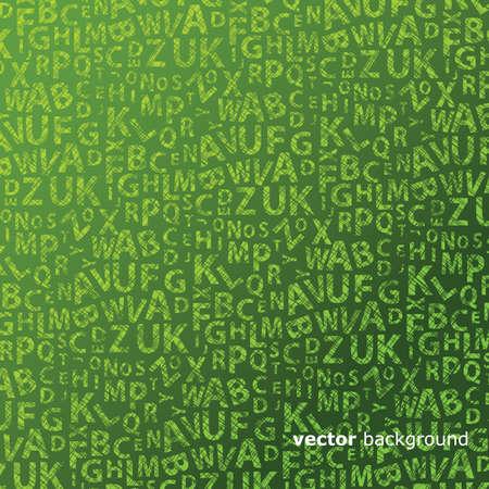 garabatos: Vector de fondo abstracto