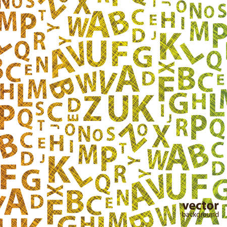 alphabet wallpaper: Abstract Background Vector Illustration