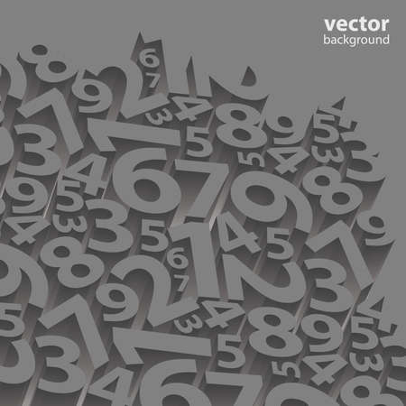 8 9: Abstract Background Vector Illustration