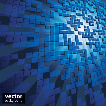 cube: Abstract Background Vector Illustration