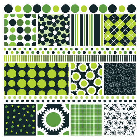 textile industry: Design Background Elements Illustration
