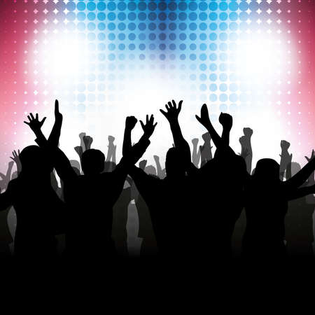 stage lights: Party People Background