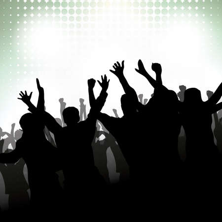 rave party: Partido Popular de fondo