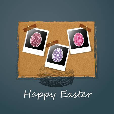 Happy Easter Card Stock Vector - 11356973