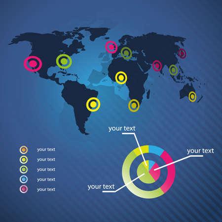 recursos naturales: Azul de fondo de negocio: los recursos mundiales