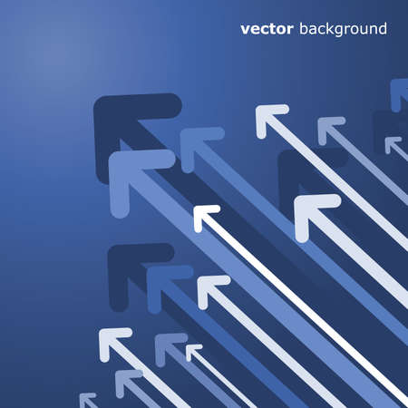 advance: Abstract Background: Arrows Illustration