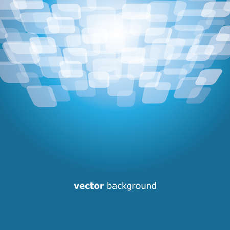 warped: Motion warped square on colorful background vector