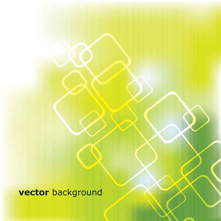 green and yellow: Abstract Background Vector Illustration