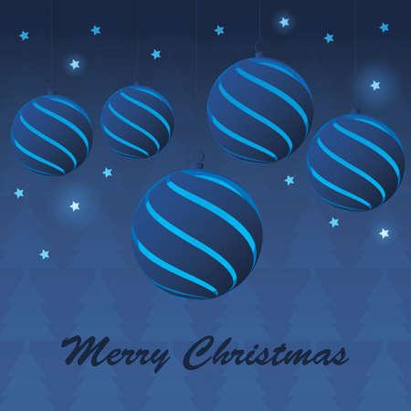 Christmas balls Stock Vector - 11344295