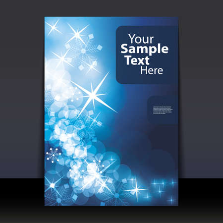 gloss banner: Christmas Flyer or Cover Design