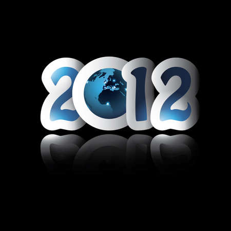New Year 2012 background Vector