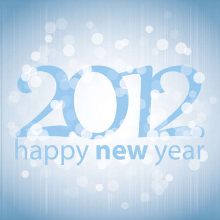 Happy New Year 2012 background  Stock Vector - 11385041