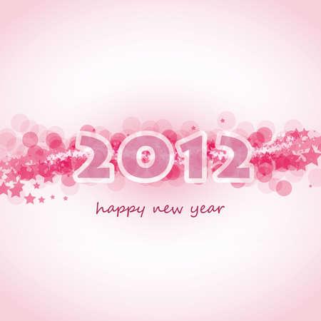 New Year Card Stock Vector - 11385040