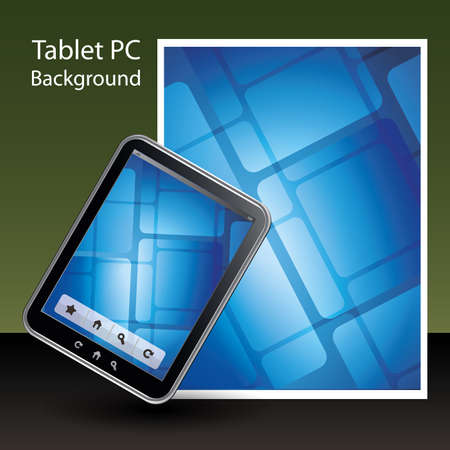 e data: Tablet PC Background