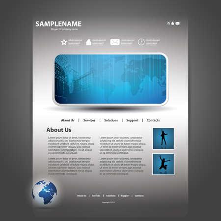 Sitio web de plantilla