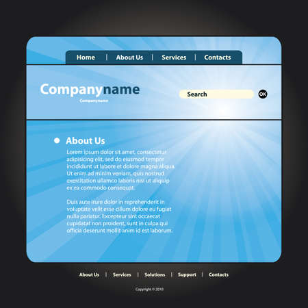 bookmark background: Website Template