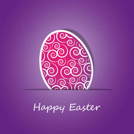 Happy Easter Card Stock Vector - 11931689