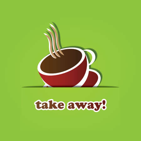 take away: Coffee Cup Icon