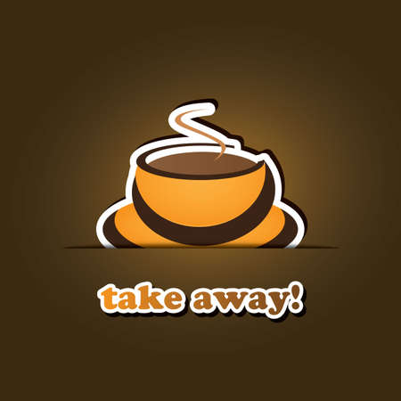 cut away: Coffee Cup Icon