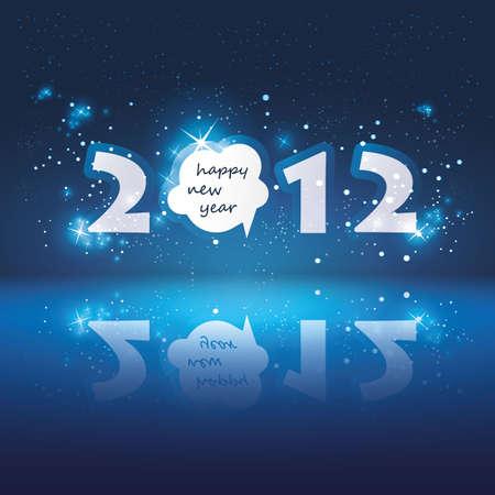 Carte Nouvel An