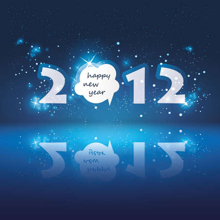 New Year Card Stock Vector - 11644609
