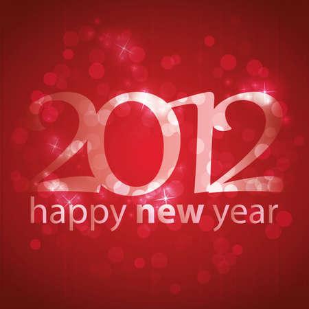 New Year Card Stock Vector - 11644607