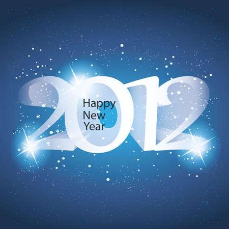 New Year Card Stock Vector - 11644608