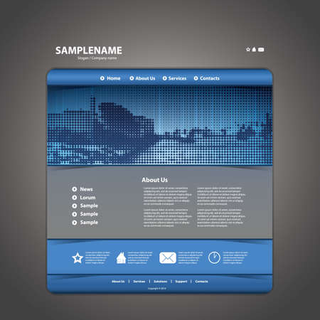 webpages: Website Template