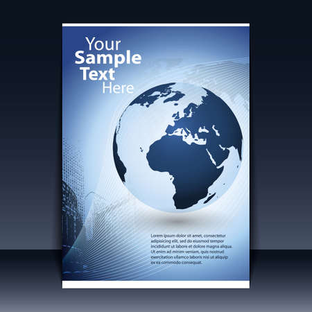Flyer Design - Business Stock Vector - 11713186