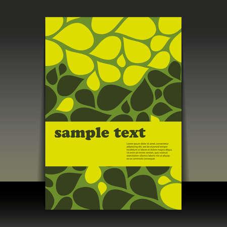 Flyer Design - Petals Vector