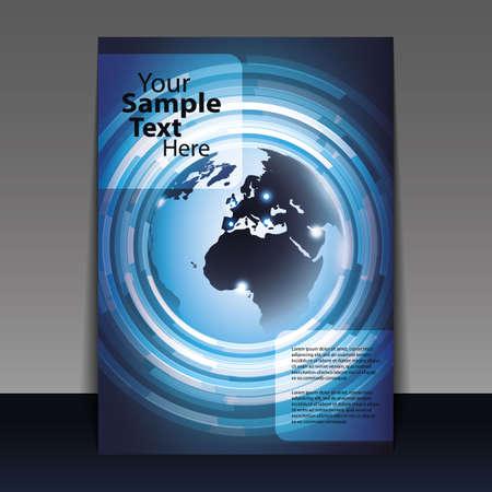 bijsluiter: Business-Flyer of Cover Design