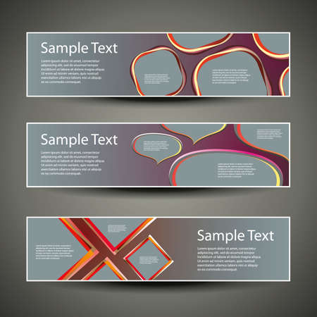 Header Designs Vector