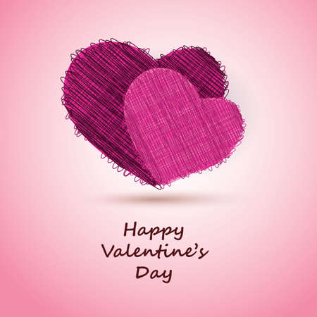 Valentines Day Card Stock Vector - 11993209